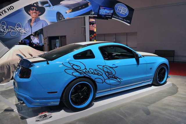 The Petty Mustang