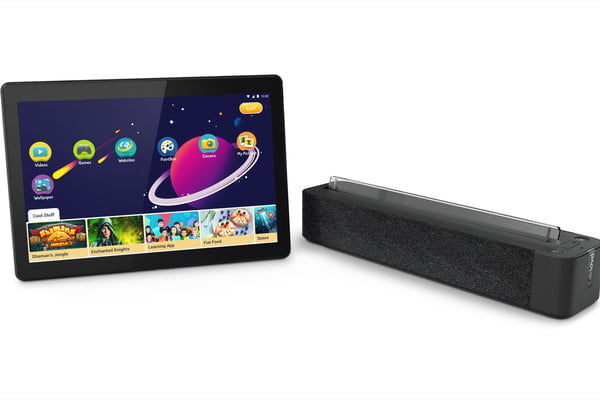 lenovo ces 2019 announcements 06 smart tab m10 with dock hero saprate apps son