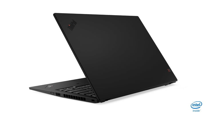 lenovo updated thinkpad x1 carbon yoga ces 2019 07 hero rear facing left