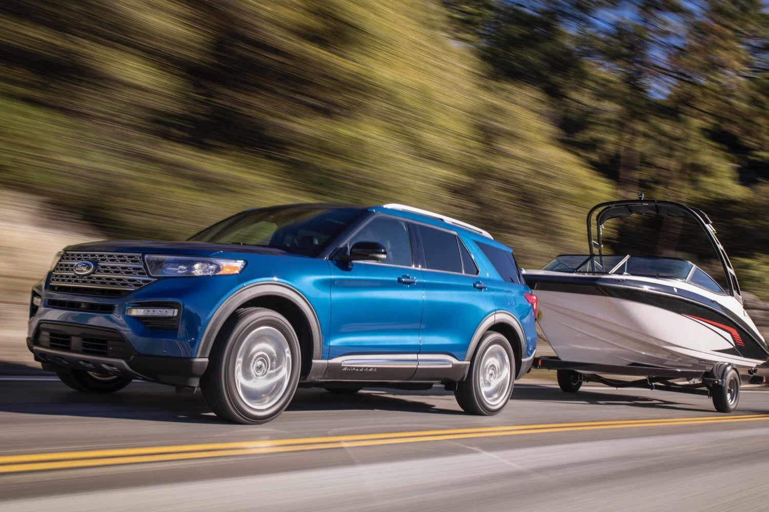 2020 Ford Explorer Will Be Available With Michelin