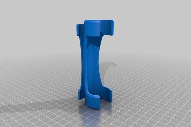 hoover makerbot 3d printing accessories 141203 flashlight mount 2 preview featured