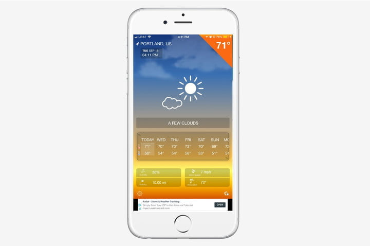 best weather apps for iphone 1weather