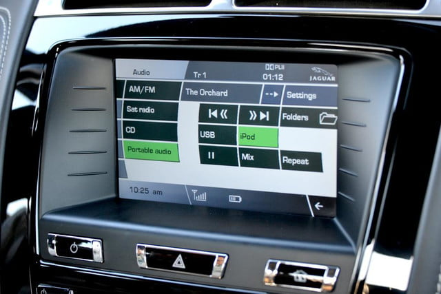 2012 jaguar xkr review portable audio