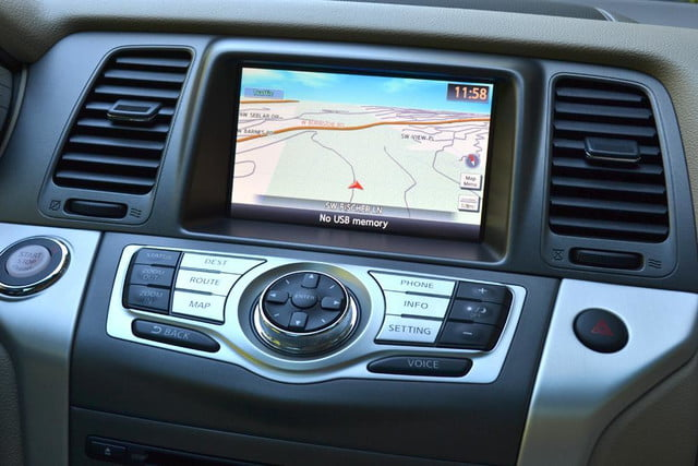 2012 nissan murano sl awd crossover review interior gps