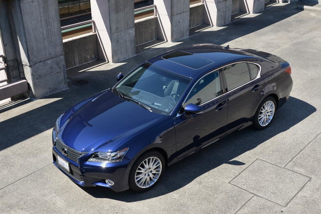 2013 lexus gs 350 review top angle