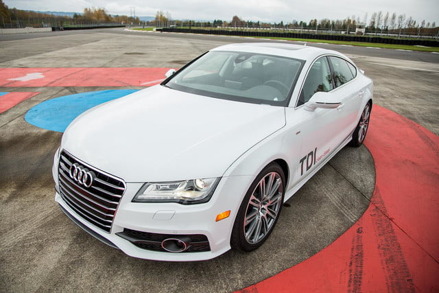 2014 Audi A7 TDI exterior body front angle