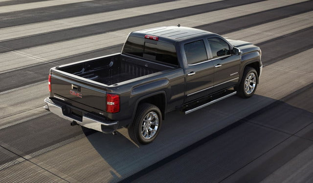 2014 GMC Sierra 1500 4WD top rear right angled