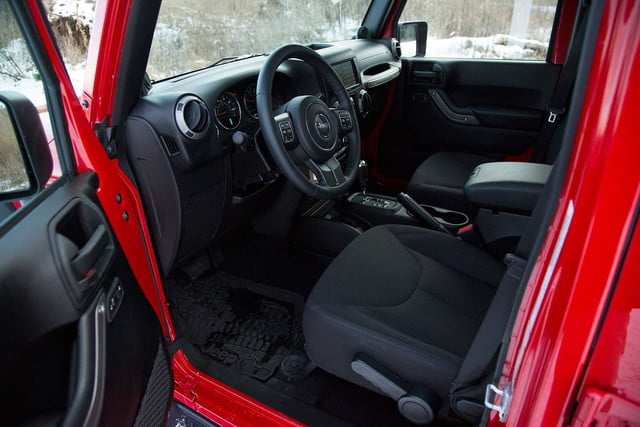 2014 Jeep Wrangler Unlimited Sport interior front
