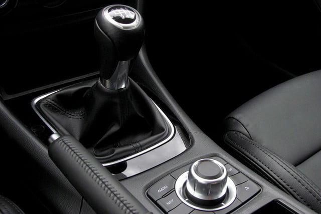 2014 mazda6 i touring review gearstick