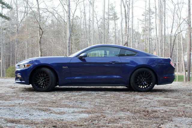 2015 Ford Mustang GT side
