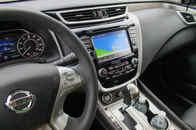 2015 Nissan Murano review interior dash