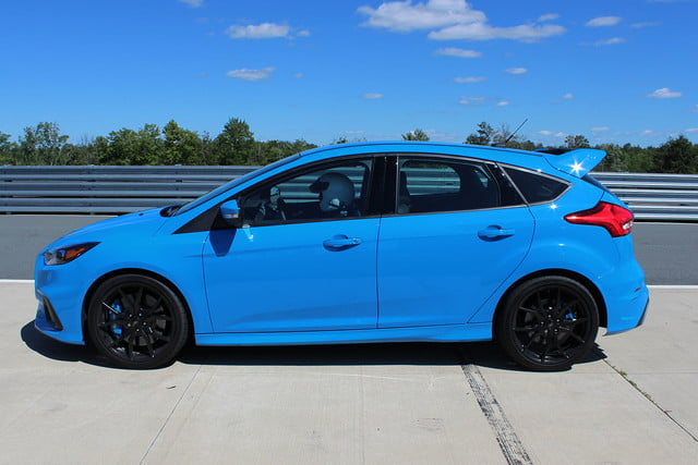 2016 ford focus rs first drive side full