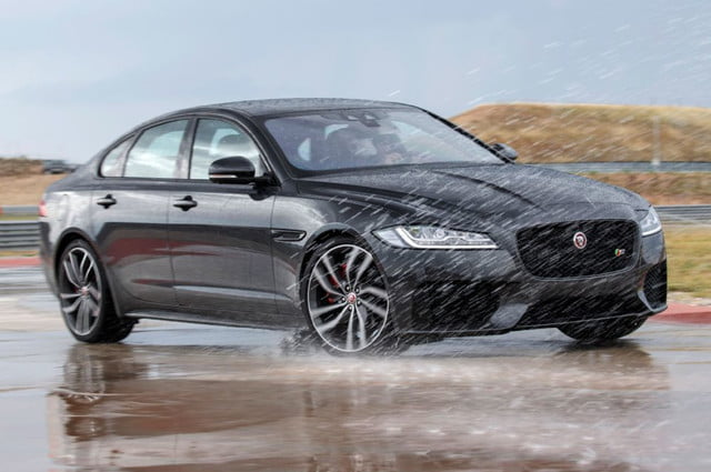 2016 jaguar model lineup pictures specs news xf s awd front angle