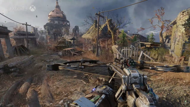 metro exodus e3 2017 gameplay reveal