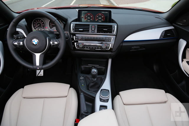 2017 BMW M240i Review interior front