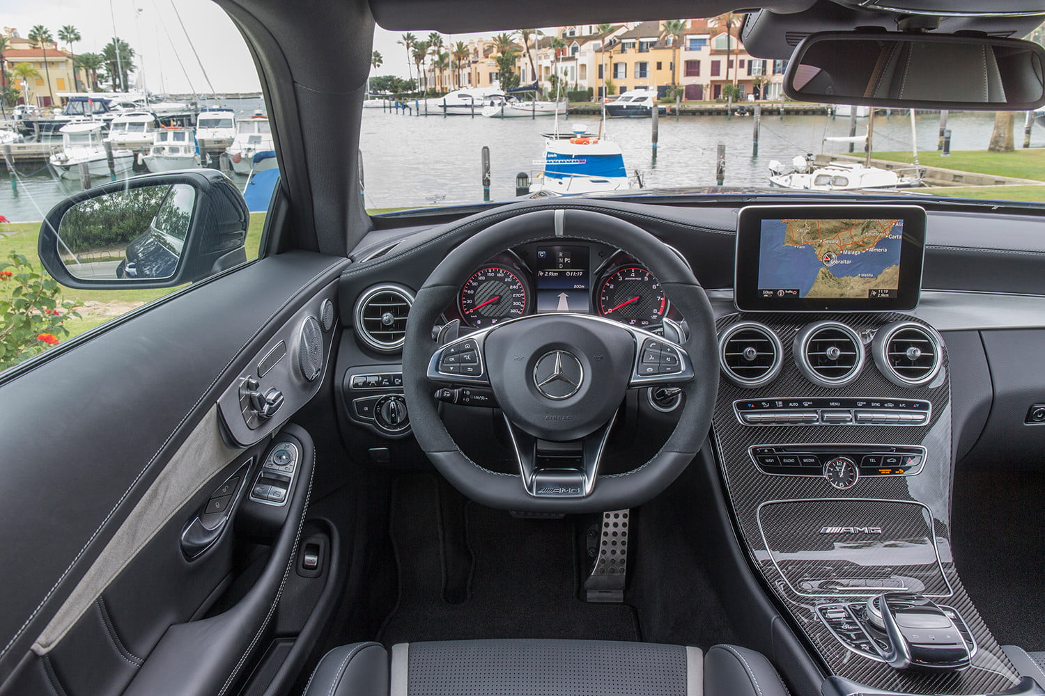 2017 mercedes amg c63 s coupe first drive impressions. Black Bedroom Furniture Sets. Home Design Ideas