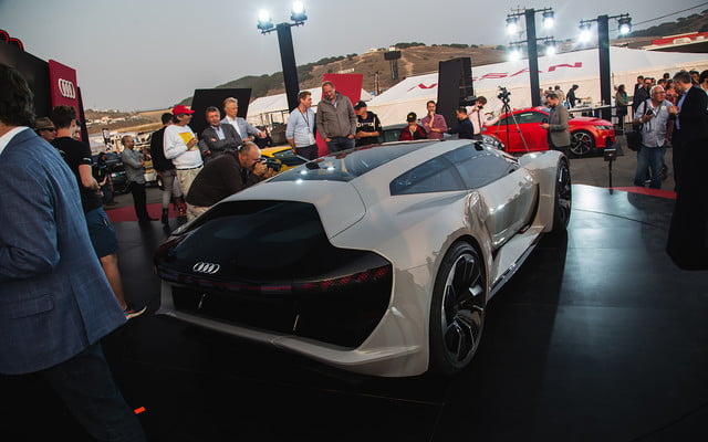 audi pb 18 e tron concept allies performance and electrification 2018 pb18  monterey car week 14