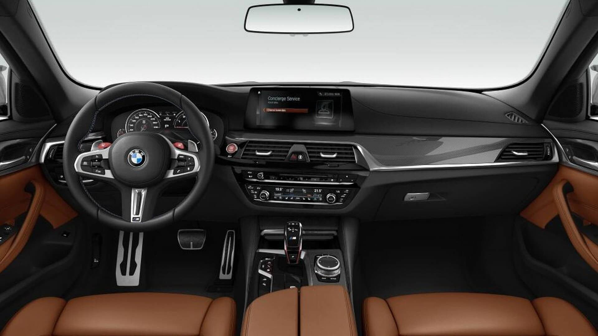Some Details Slip Of A New Bmw M5 Competition With More