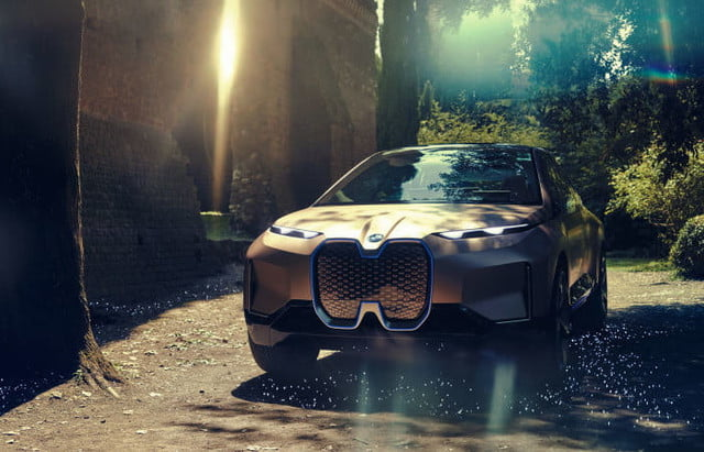 the bmw vision inext concept leaked before its official reveal 2018 leak  4