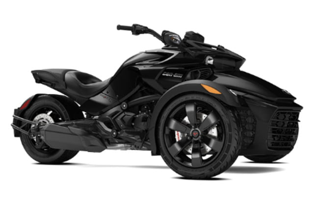 2018 can am spyder three wheelers pictures performance specs digital trends. Black Bedroom Furniture Sets. Home Design Ideas