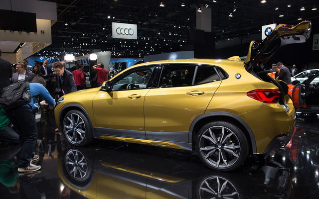 the 2018 bmw x2 takes its official worldly bow in detroit  13