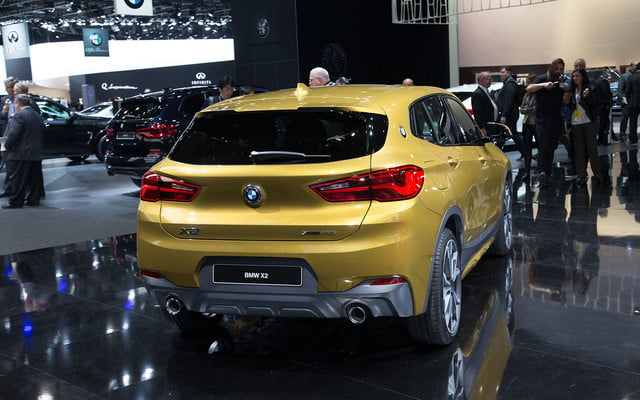 the 2018 bmw x2 takes its official worldly bow in detroit  4