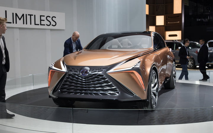 the lexus lf 1 limitless concept previews a new direction for flagship crossover 2018 detroit