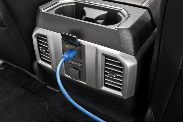 2018 Ford F-150 - 110-volt 400-watt power outlet