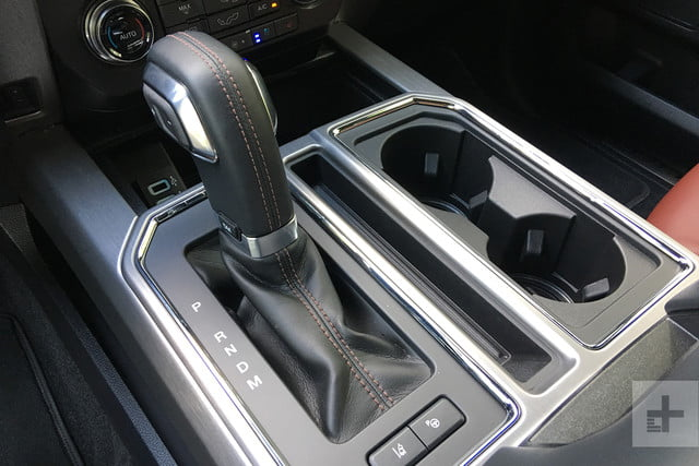 2018 Ford F 150 review gear stick