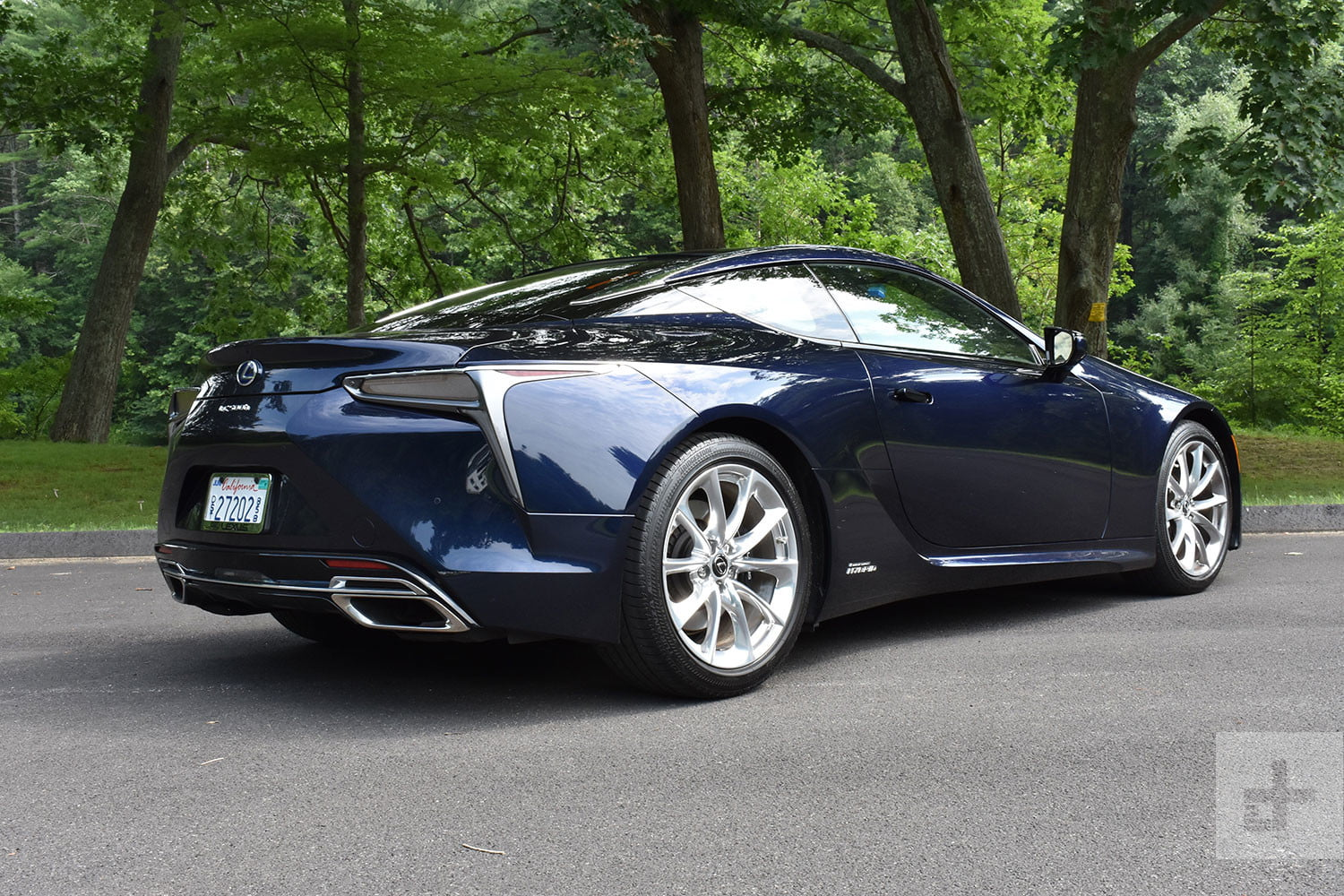 2018 lexus lc 500h review digital trends. Black Bedroom Furniture Sets. Home Design Ideas