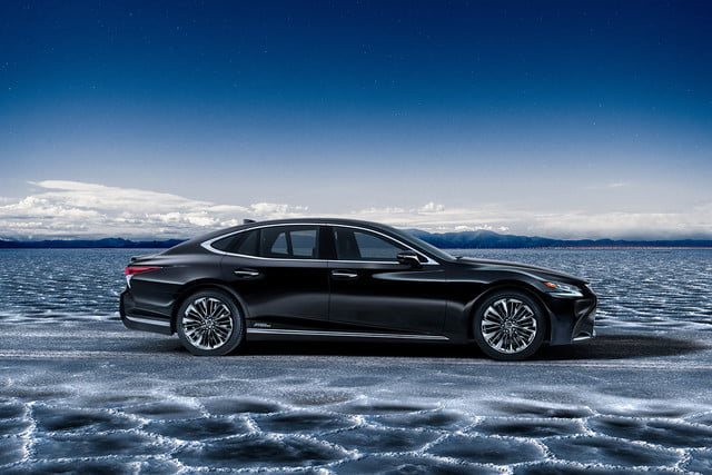 lexus ls may get plug in hybrid ev hydrogen fuel cell variants 2018 ls500h  19