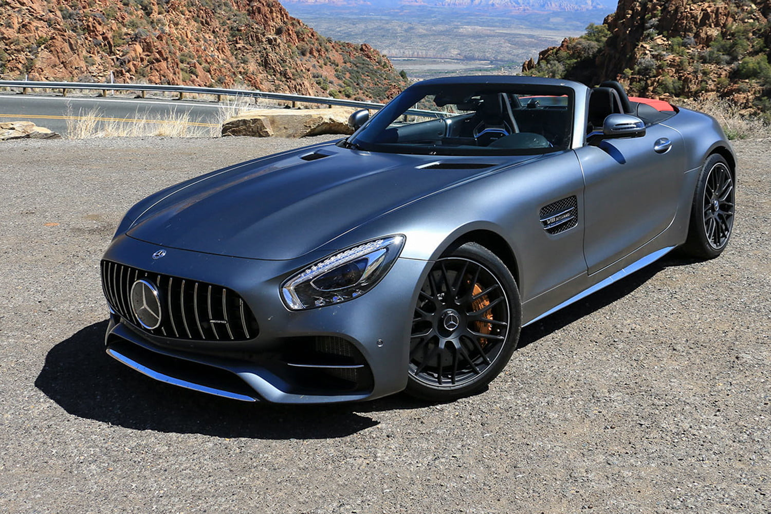 2018 Mercedes-AMG GT C Roadster First Drive
