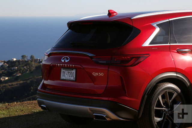 2019 Infiniti QX50 first drive review hatch back right