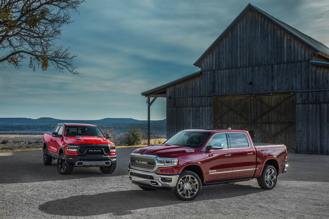 2019 Ram 1500 Rebel and Ram 1500 Limited