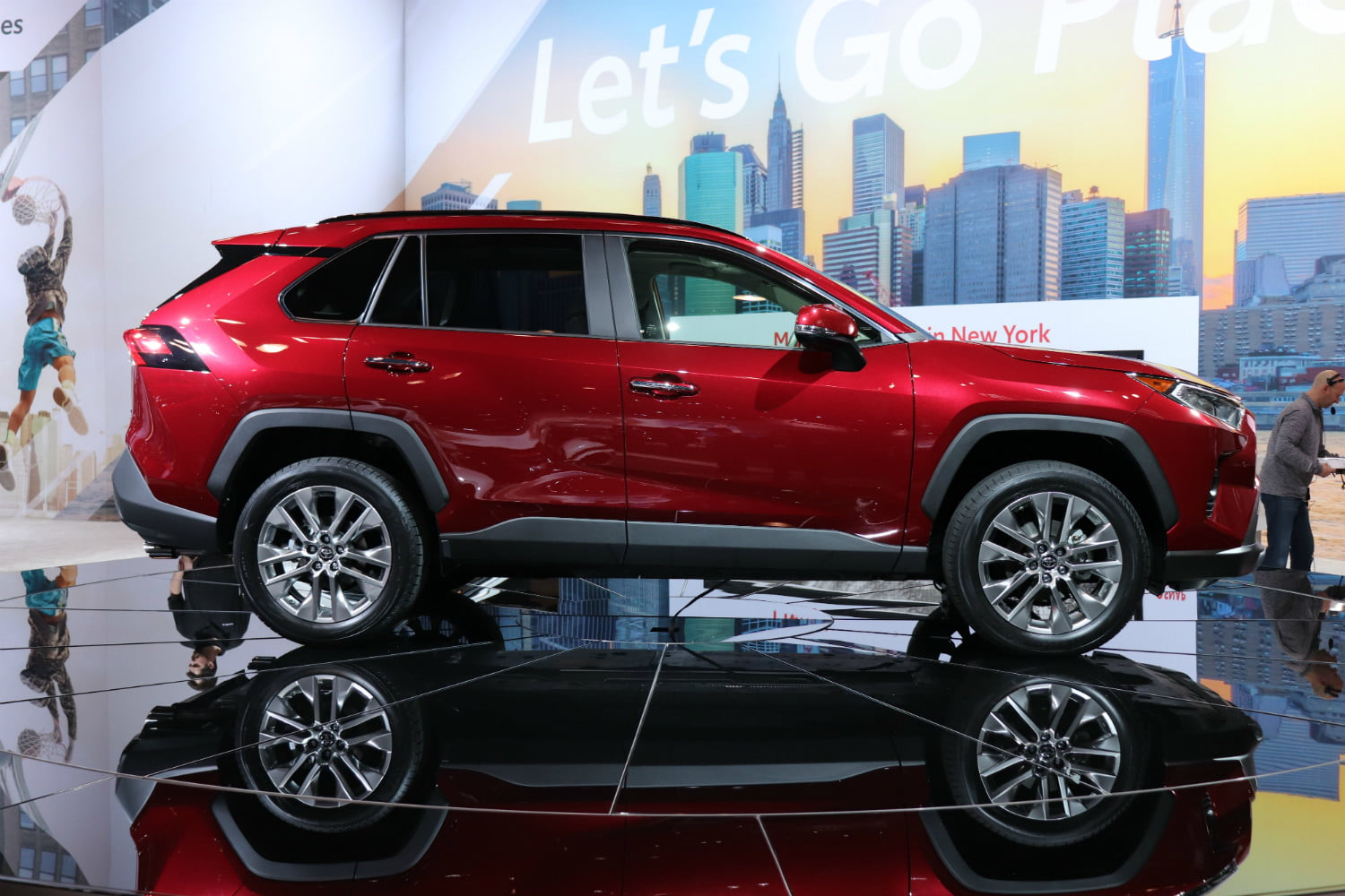 Toyota RAV Arrives In New York With More Style New Tech - Car show management software