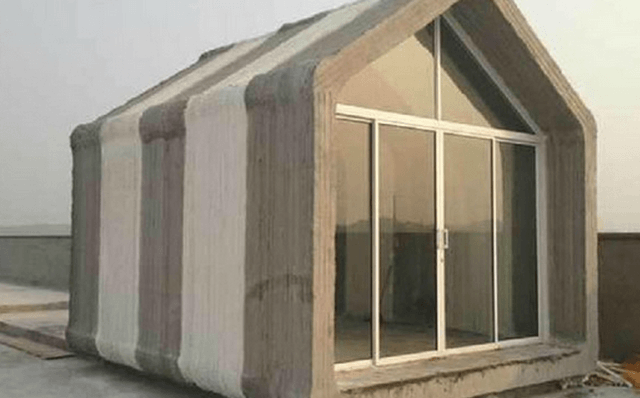 Giant D Printer Can Build Prefab Homes Hours Prinded Houses