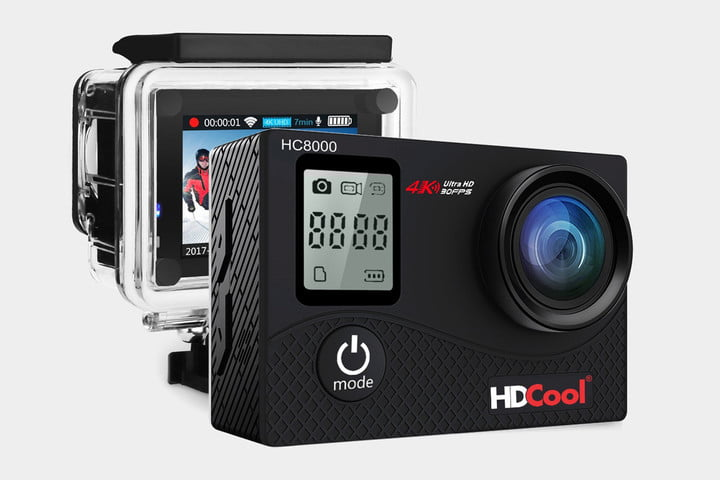 gopro alternatives HDCool HC8000