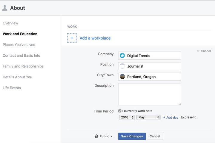 how to set facebook privacy settings aboutworkplace