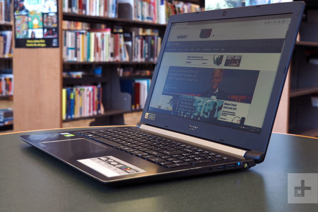 Acer Aspire 5 review side angle