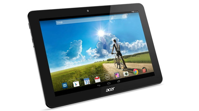 embargo 93 620am et acer goes tablet crazy ifa 2014 iconia tab 8 w 10 one right facing black press image