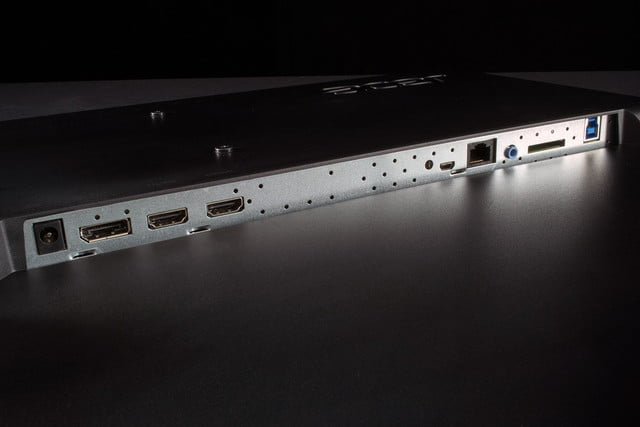 Acer TA272HUL review ports wide