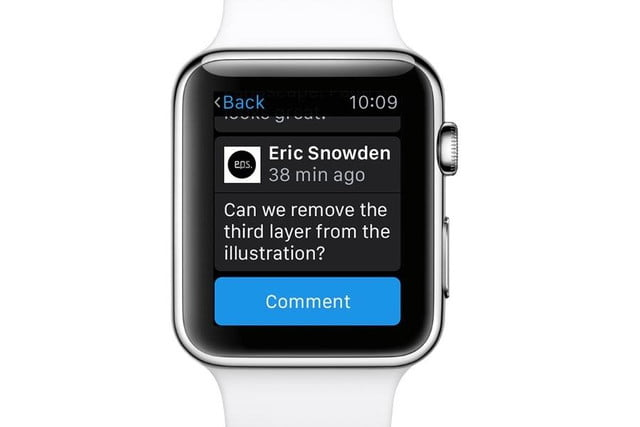 monitor and control your creative portfolio from apple watch with adobes apps adobe cloud comment