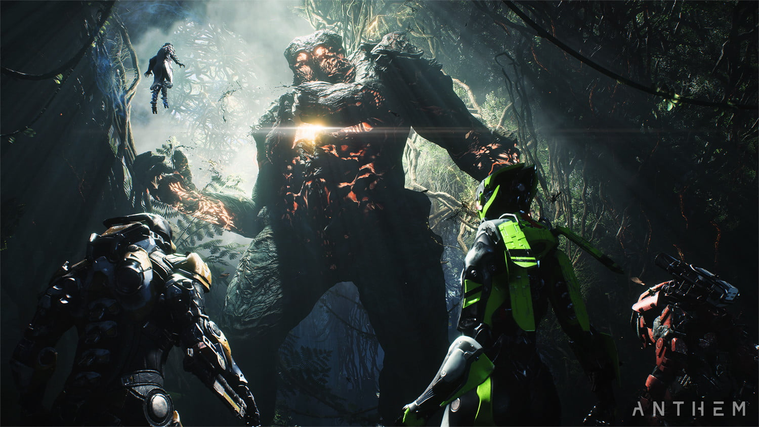 Anthem: How to Defeat Titans (Avoiding Attacks and Dealing Damage