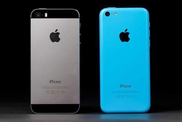 apple iphone 5c vs 5s rear