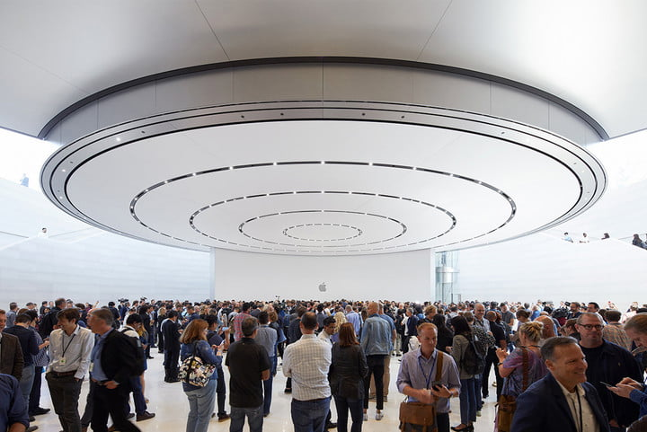 Apple Park indoors
