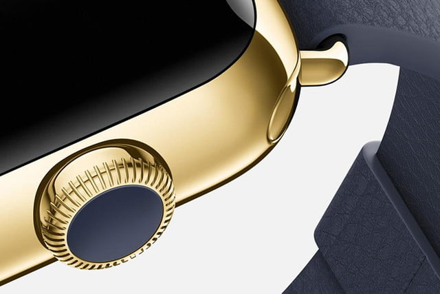 apple watch release news edition yellow gold blue detail
