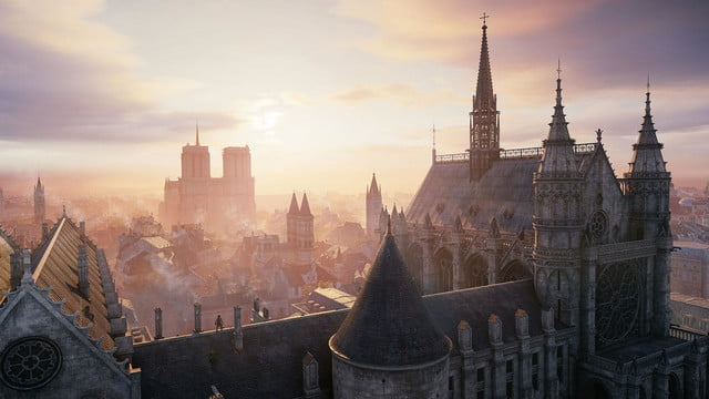 assassins creed unity reveals new weapons missions team opportunities vistanotredame