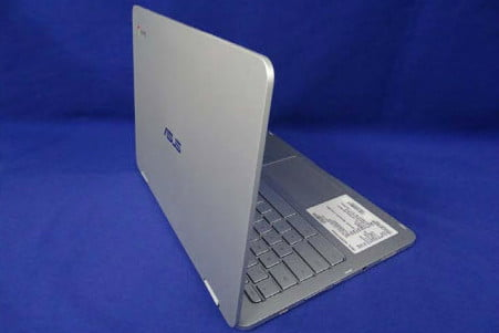 asus premium chromebook c302ca rear