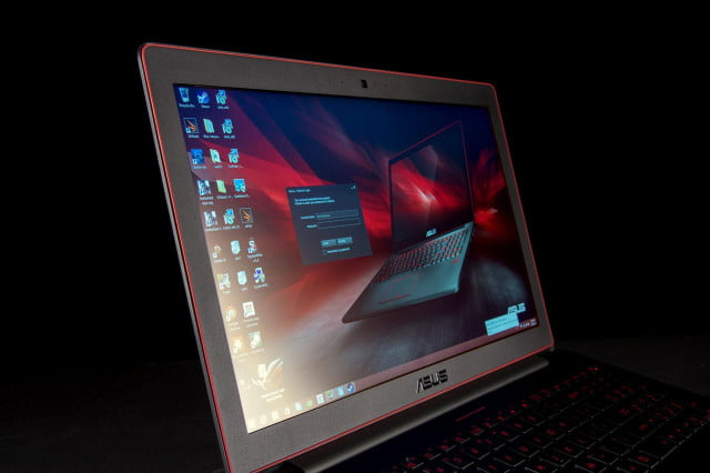 ASUS RoG G501JW DS71 screen left angle