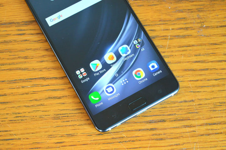 Asus Zenfone AR review home screen